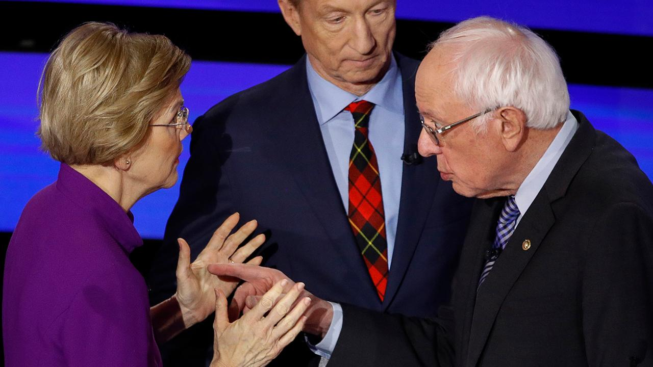 Sanders clashes with Warren over sexism allegations