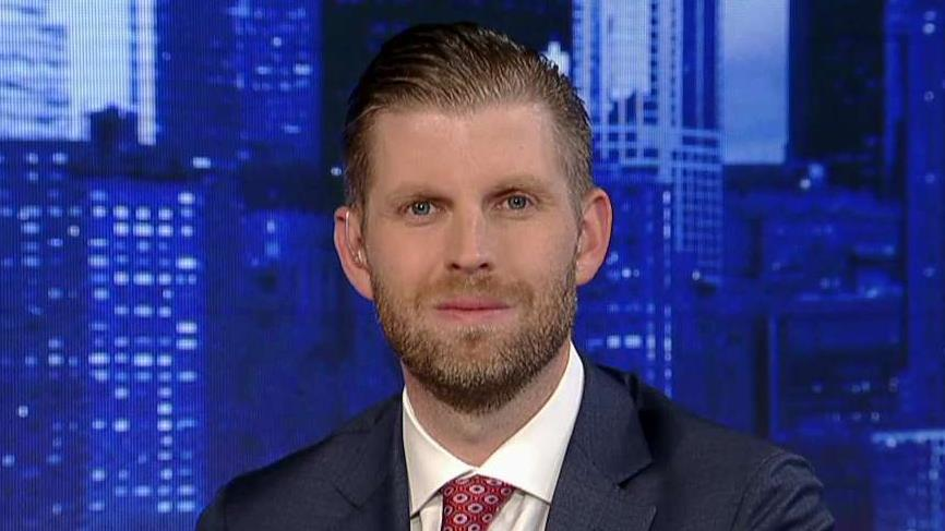 Eric Trump: I'd love to see Hunter Biden on the stand