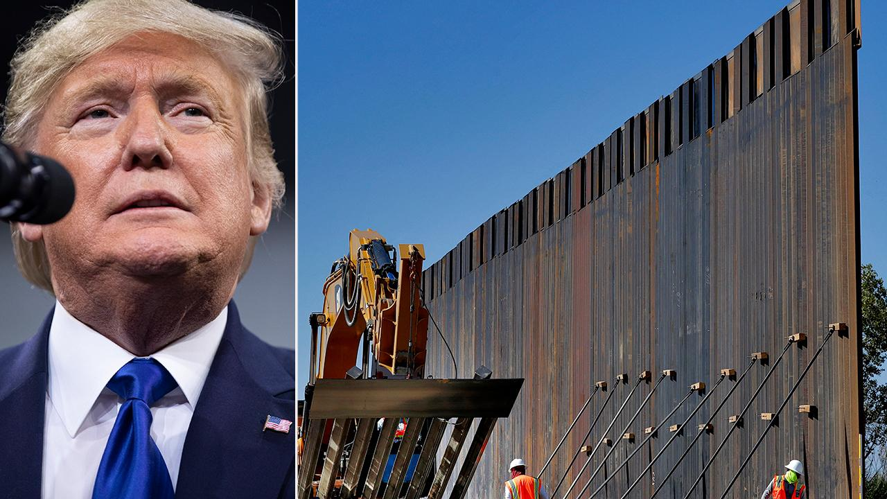 Report: President Trump to shift $7.2 billion to border wall