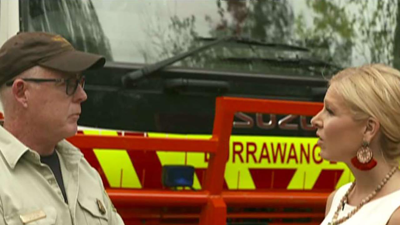 US firefighters describe 'apocalyptic' scene on the frontlines in Australia