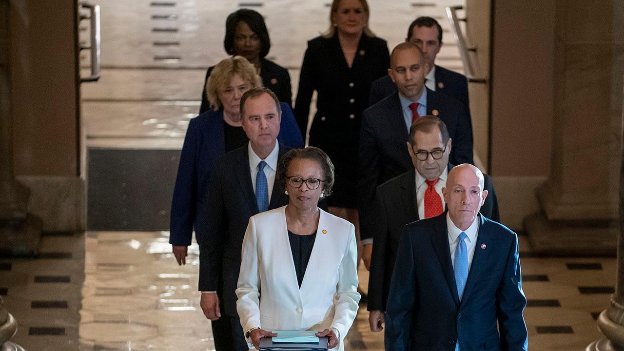 Westlake Legal Group 694940094001_6123185340001_6123184237001-vs Trump impeachment trial begins as articles formally presented to Senate Marisa Schultz fox-news/politics/trump-impeachment-inquiry fox news fnc/politics fnc article Alex Pappas acaaf11c-ed38-5a06-a4b4-d3f9d33e7249