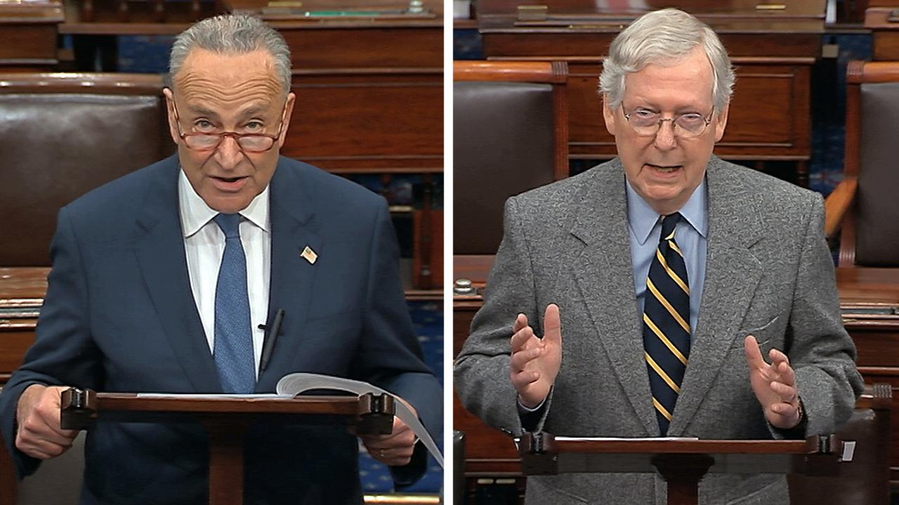 McConnell, Schumer note magnitude of impeachment trial: The Senate's time is at hand