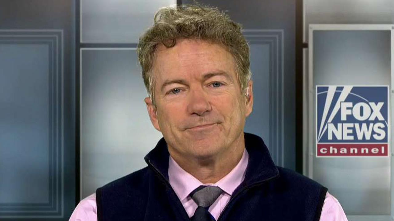 Sen. Paul: I think the Bidens are corrupt
