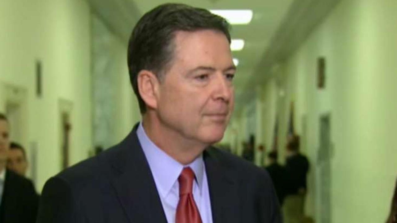 James Comey the focus of FBI leak investigation
