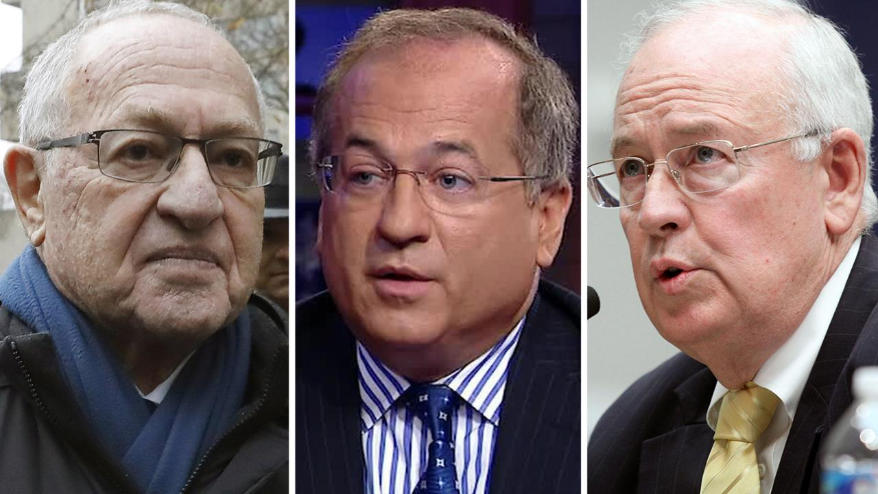 Ken Starr, Alan Dershowitz, Robert Ray join Trump's impeachment defense team