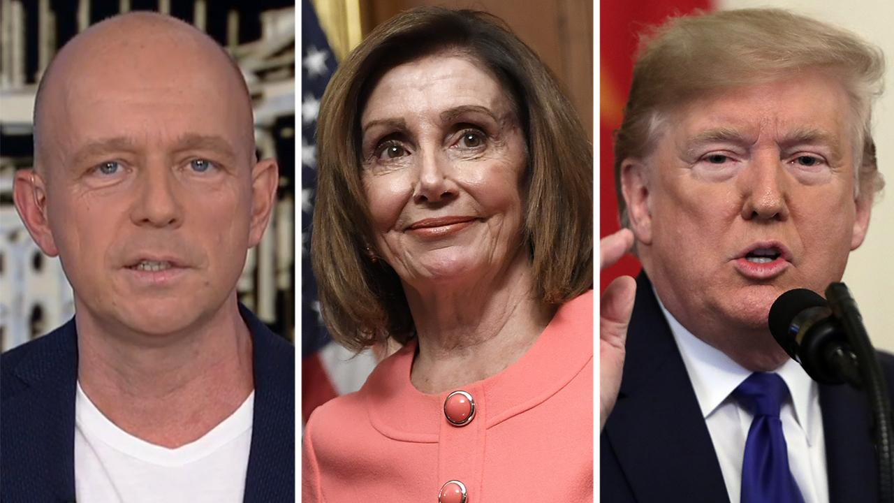 Steve Hilton: Pelosi stunts vs. Trump results