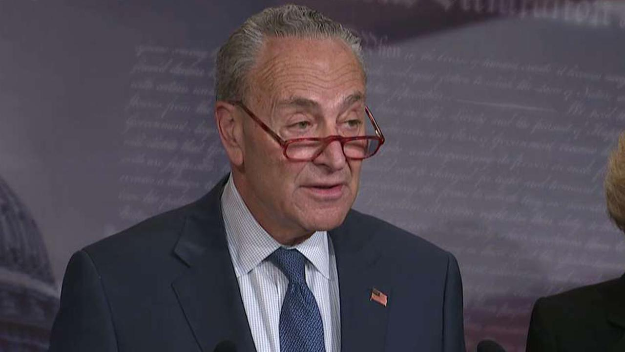 Chuck Schumer says Mitch McConnell's impeachment trial rules are a national disgrace