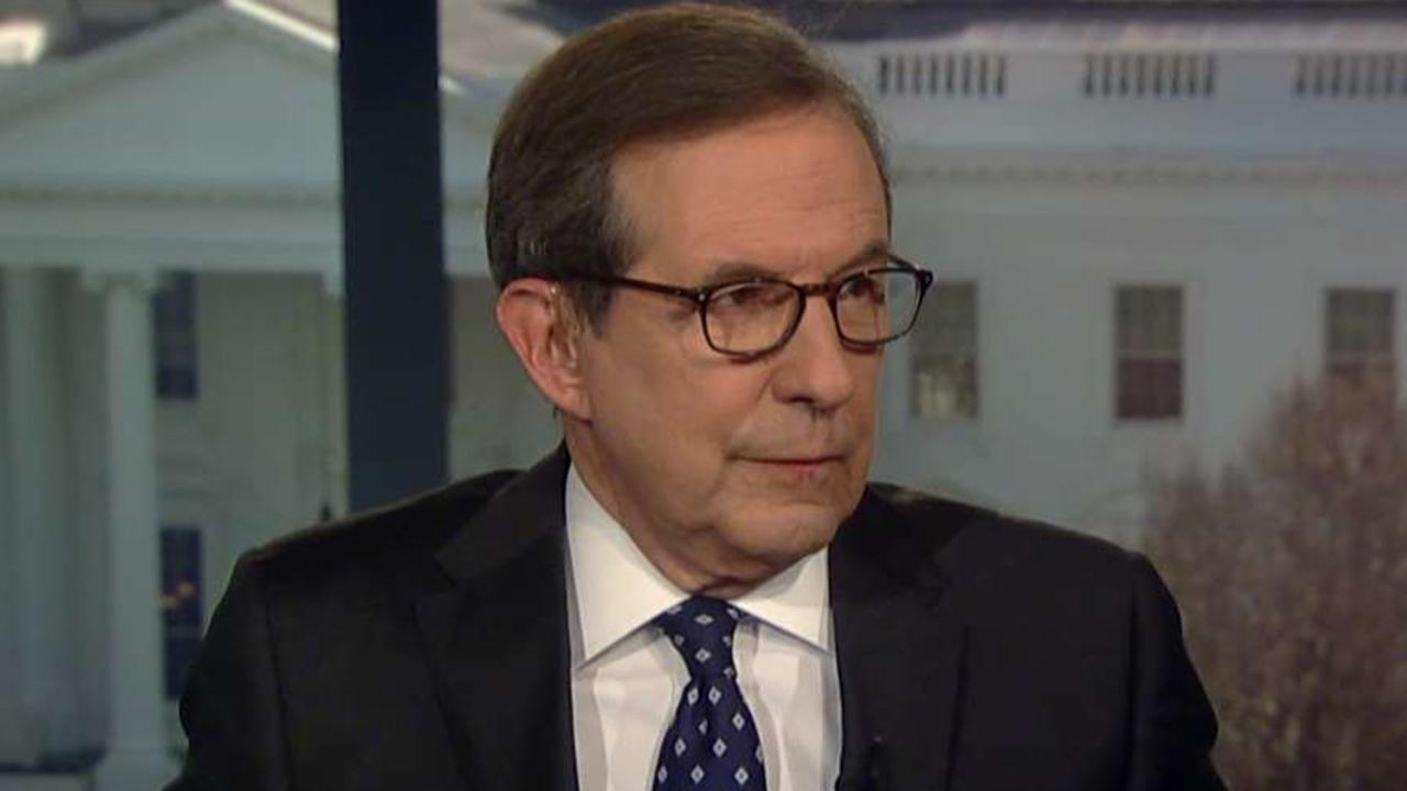 Chris Wallace says last-minute changes to McConnell resolution indicate at least 4 GOP senators had concerns