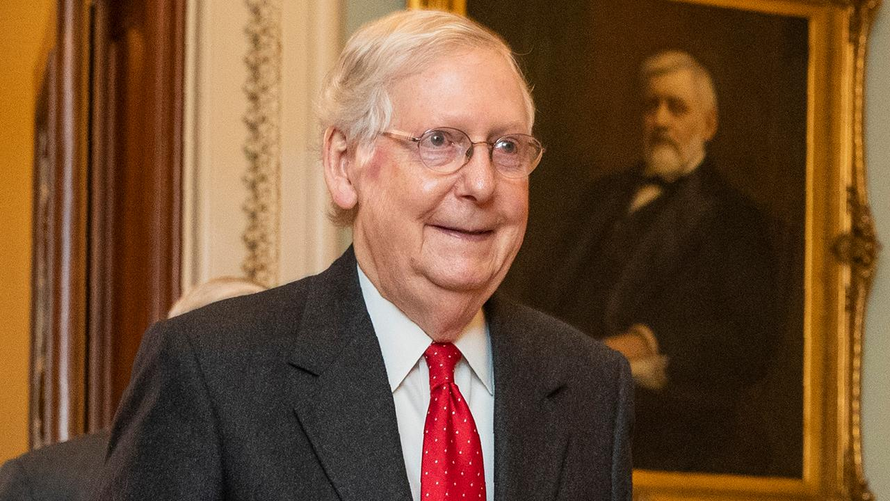 Senate impeachment trial starts with bang as McConnell's rules are approved