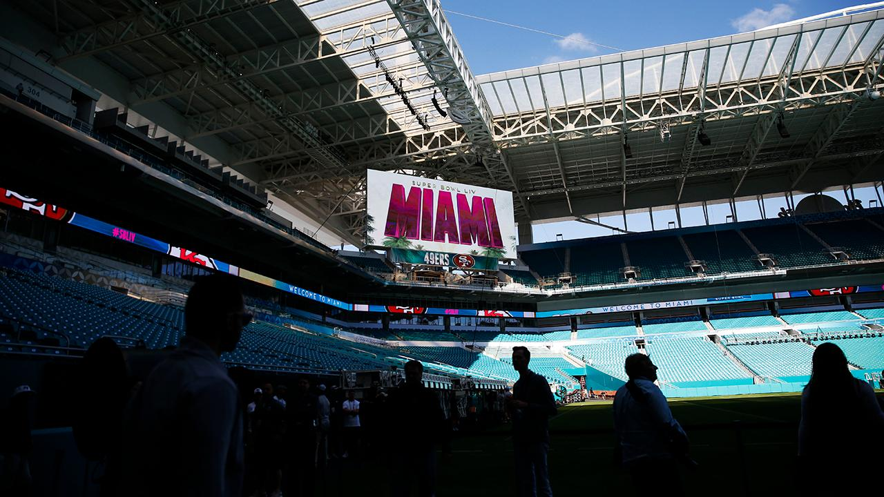 Miami putting final touches on Super Bowl LIV preparations