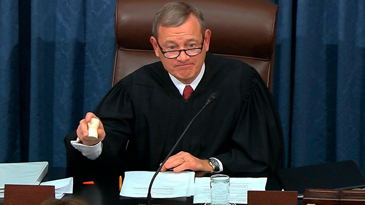 Chief Justice Roberts admonishes both sides at Senate impeachment trial