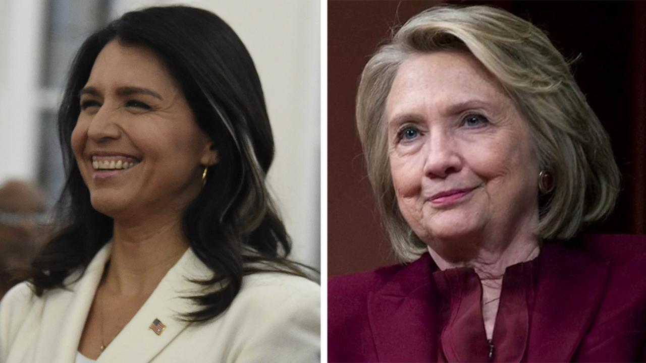 Westlake Legal Group 694940094001_6125696452001_6125703820001-vs Hillary Clinton 'intimidated' by Tulsi Gabbard's $50M lawsuit, won't accept legal documents, lawyer claims: report fox-news/us/democratic-party fox-news/politics/the-clintons fox-news/politics/elections fox-news/politics/2020-presidential-election fox-news/person/tulsi-gabbard fox news fnc/politics fnc Dom Calicchio dadac837-db8a-5356-bc7e-889f3fe5888b article