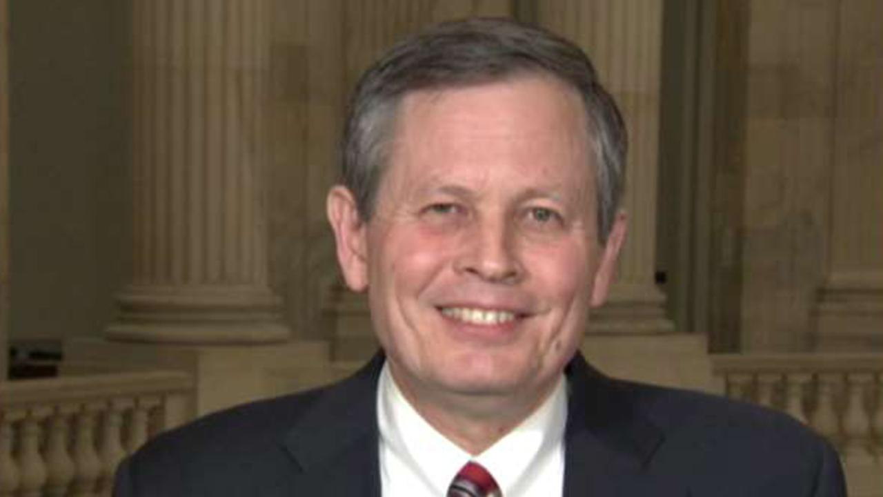Daines to introduce resolution condemning court packing, as Republicans ramp up pressure on Dems