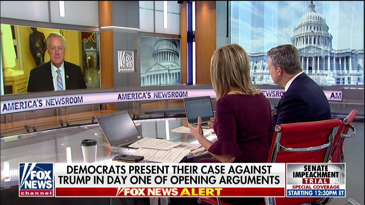 Mark Meadows: Democrats 'intentionally misleading the American people' at impeachment trial