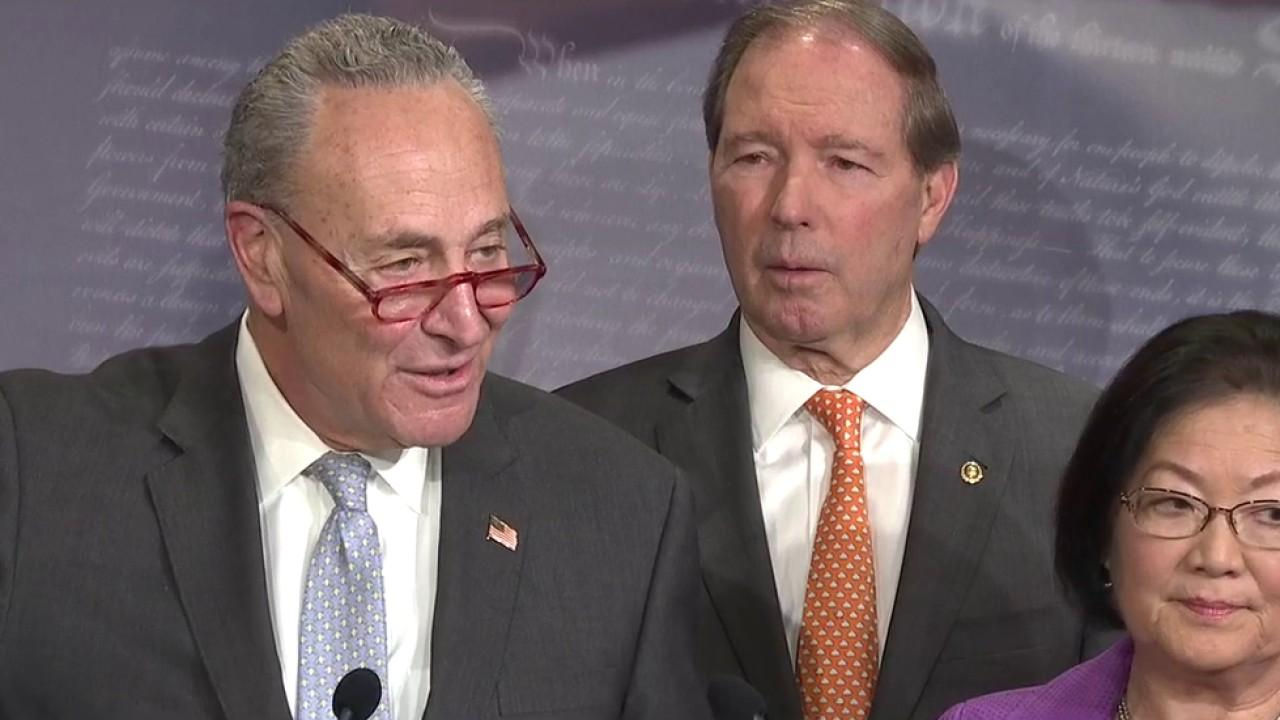 Schumer praises impeachment managers' opening arguments, urges Republicans to demand witnesses and documents