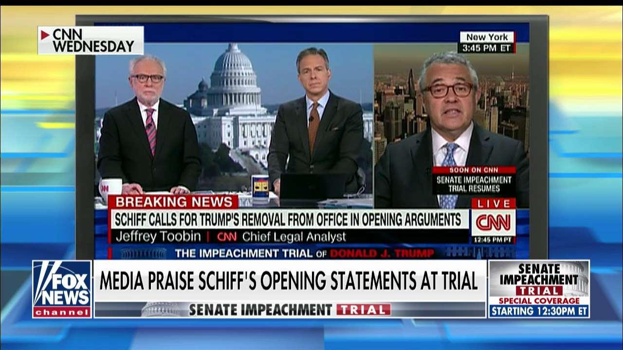 Media heaps praise on Adam Schiff's impeachment argument: 'It was dazzling'