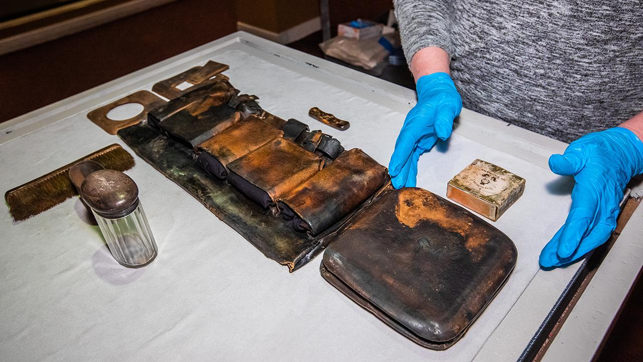 Never-before-seen Titanic artifacts on display for first time in Las Vegas