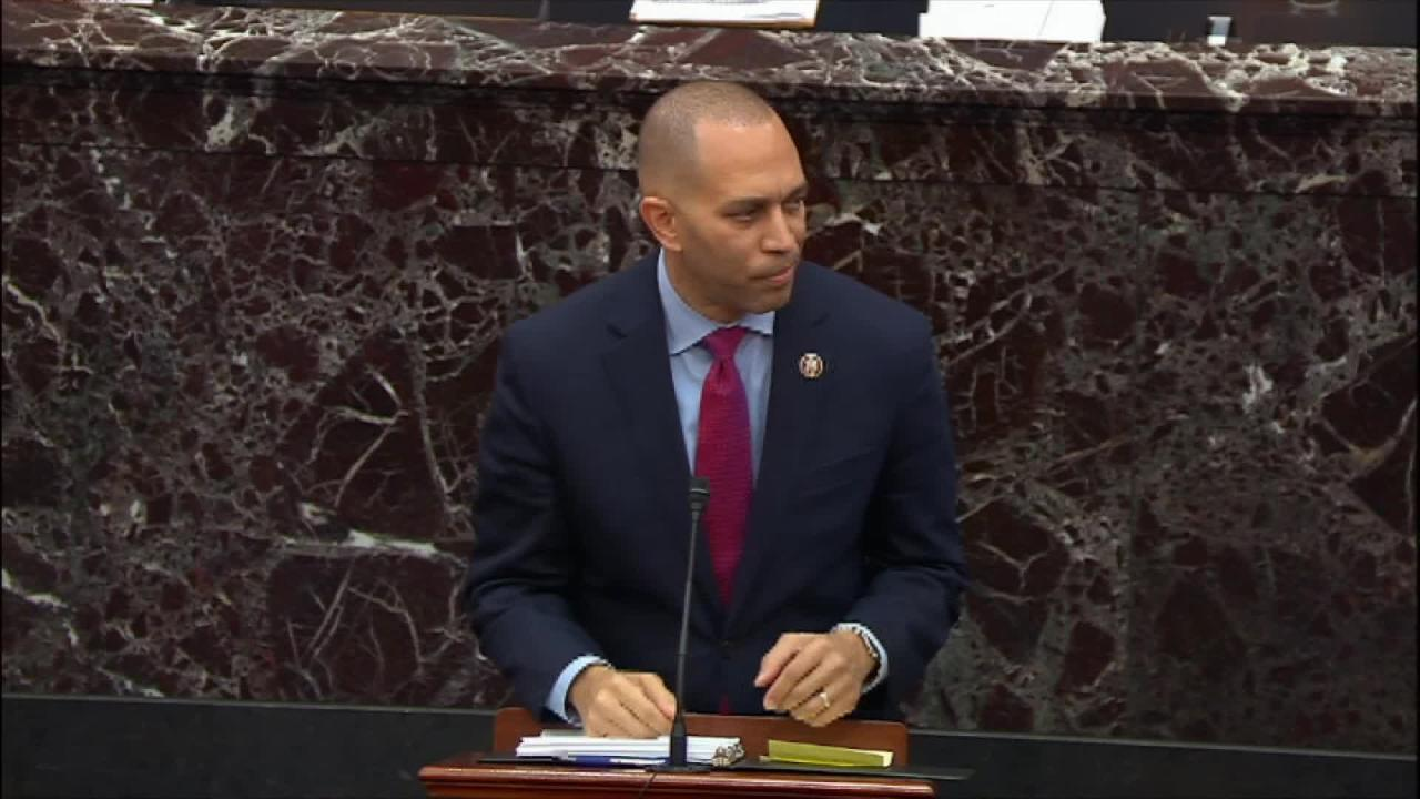 Rep. Jeffries jokingly suggests subpoenaing the Baseball Hall of Fame after Derek Jeter was not voted in unanimously