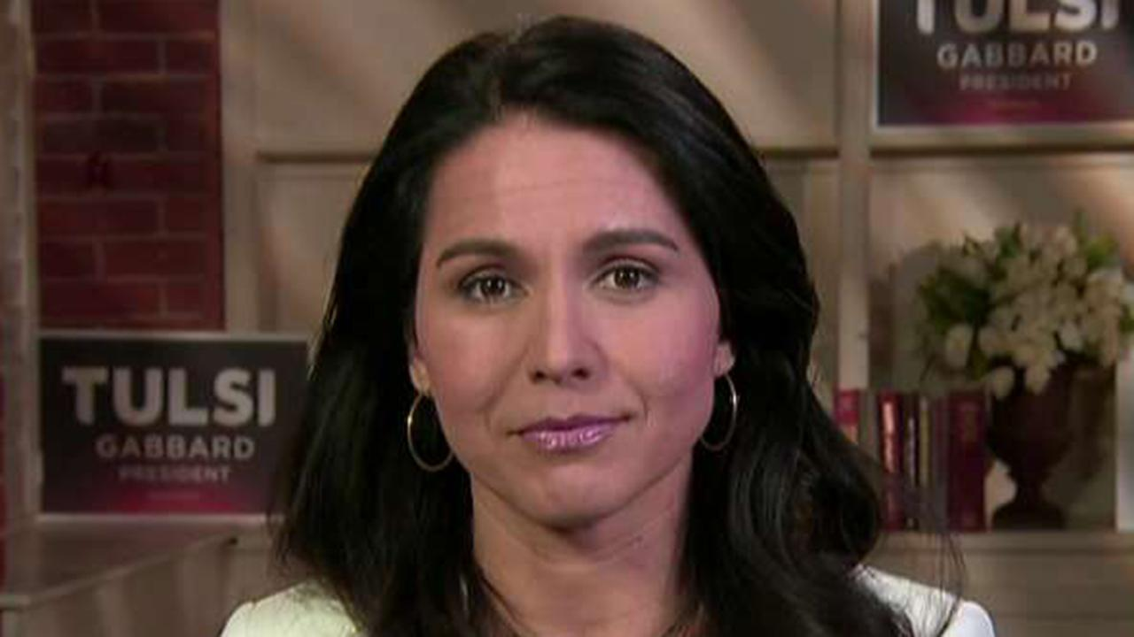 Gabbard: Hillary Clinton is trying to silence me