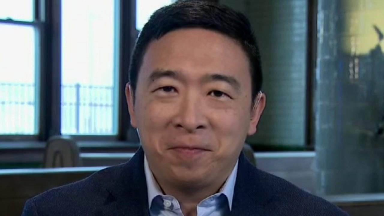 Andrew Yang on expectations for Iowa caucuses