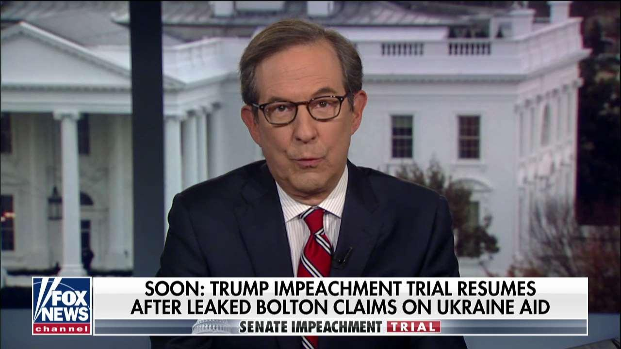 Chris Wallace: I suspect many Senate Republicans are 'furious' after Bolton leak