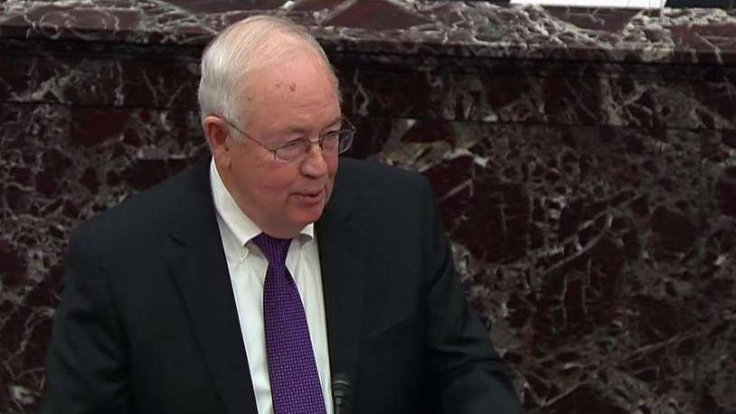 Ken Starr says presidential impeachments should charge crimes, must be bipartisan in nature