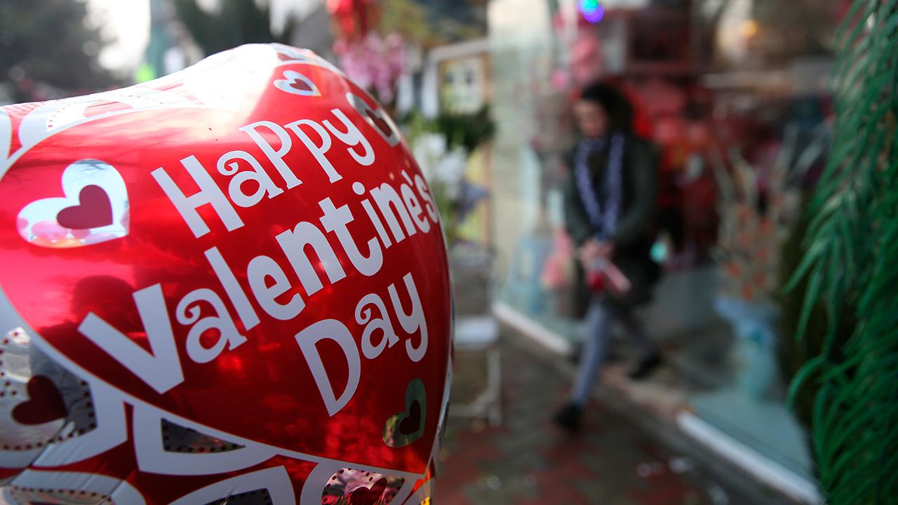 Valentine's Day is big business