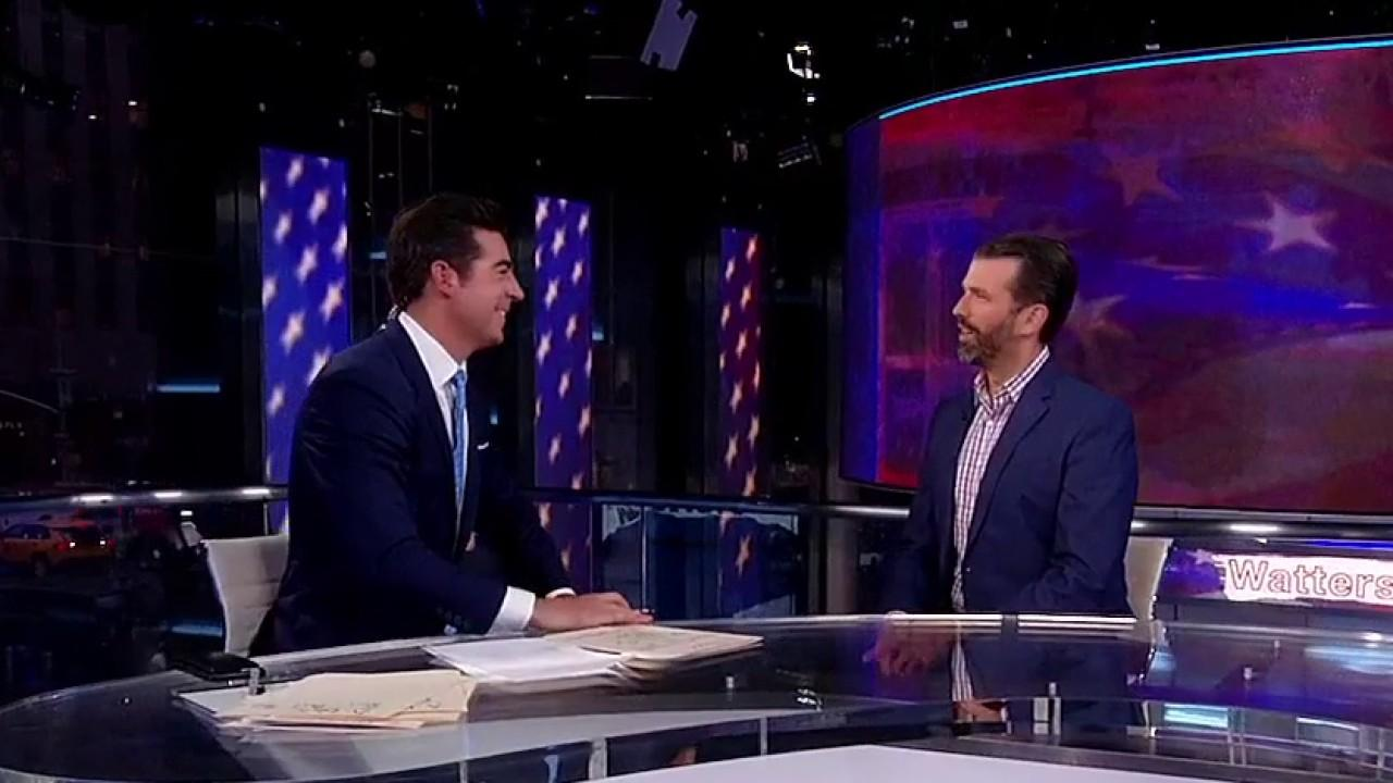 Westlake Legal Group 694940094001_6132881889001_6132891354001-vs Donald Trump Jr. says there's no 'equal justice': 'If you're a Trump guy, it's over!' Victor Garcia fox-news/world/conflicts/ukraine fox-news/shows/watters-world fox-news/person/william-barr fox-news/person/joe-biden fox-news/person/donald-trump fox-news/media/fox-news-flash fox-news/media fox news fnc/media fnc article 78fcfb09-8648-5a12-8fb2-ca9cc91ee35d