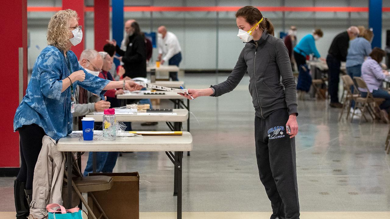 Wisconsin voters cast ballots amid the coronavirus pandemic