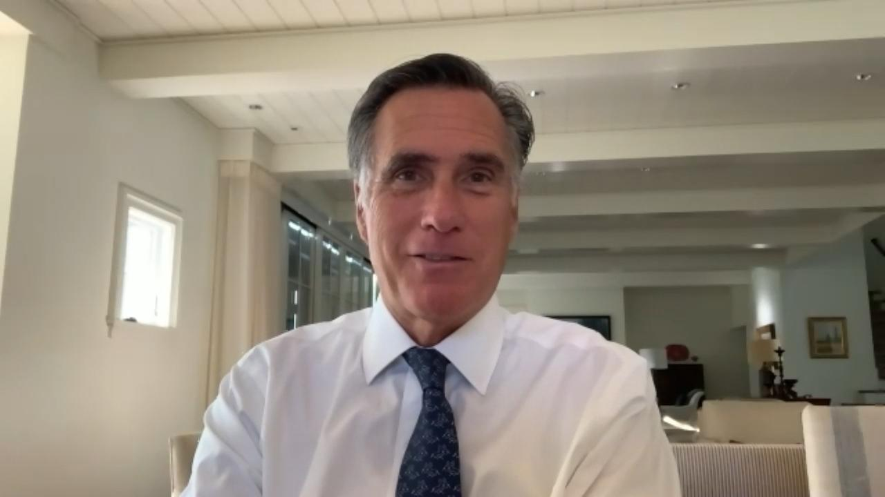 Sen. Mitt Romney shares his Big Idea speaking about the TRUST Act. The bill would set up commissions to address each trust fund.