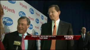 Pfizer and Wyeth CEOs on $68B DEAL