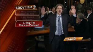 Big 3: Stop the Stimulus