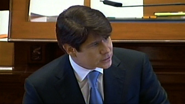 Blago Defends Himself at Trial