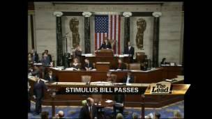 House Passes Stimulus Bill