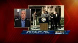 Former Gov. Gray Davis on California's IOUs