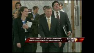 Daschle Finding Support