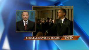 Stimulus Moves to Senate