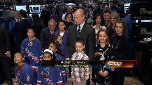 NHL Legend at the NYSE