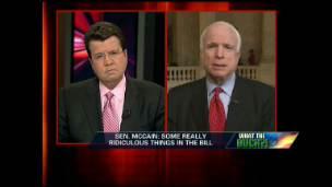 McCain: It's a Spending Bill, not a Stimulus