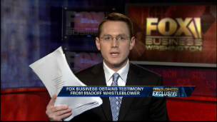 FBN Obtains Madoff Whistleblower Testimony