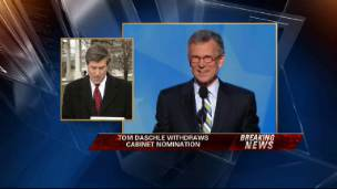 Daschle Pulls Nomination After Tax Problems