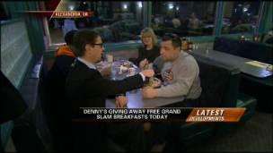 Denny's Free Breakfast