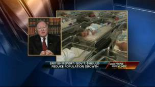 Former Reagan Official on Population Control