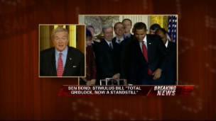 Sen. Bond Responds to Obama-Stimulus Ads