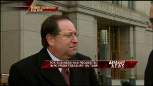 FBN Sues Treasury for TARP Info
