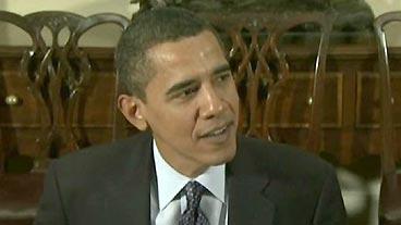 Obama Hits Turbulence