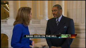 Bank CEOs Head to the Hill