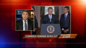 Commerce Secretary Nominee Bows Out