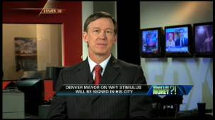 Denver Mayor on the Stimulus Plan