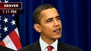 Pres. Obama Signs Stimulus Bill
